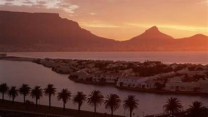 Cape Mountain Town Table Africa South Wallpapers
