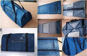 Upcycle Old Jeans into a Beautiful Zippered Bag - AllDayChic