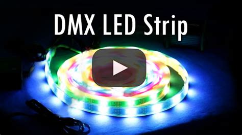 How Setup The Dmx Rgb Led Strip Installation