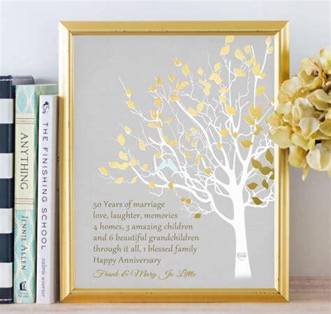 golden anniversary gifts ideas  pinterest