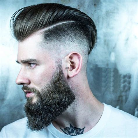 cool classic beared mens hairstyles motivational trends