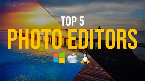 top    photo editing software youtube