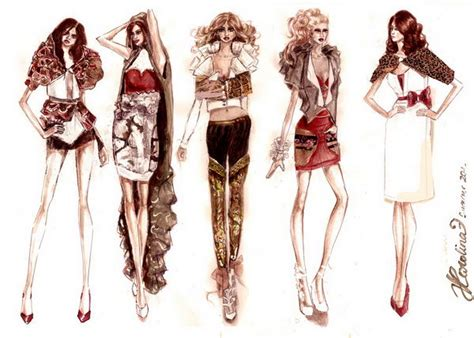 cool fashion sketches hative