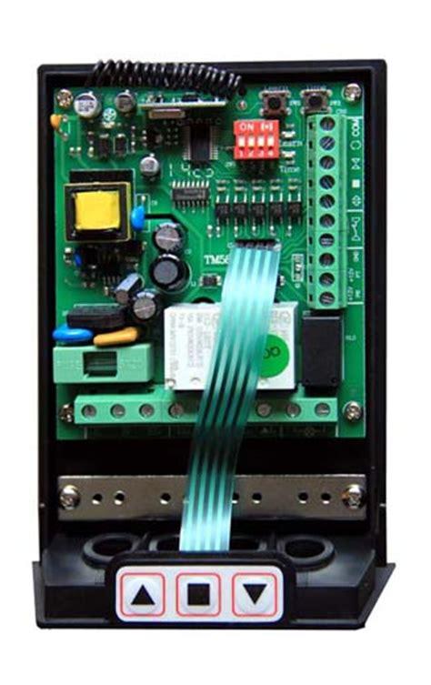 centralina universale per serranda garage ricevitore e 2 telecomandi 433 mhz ebay
