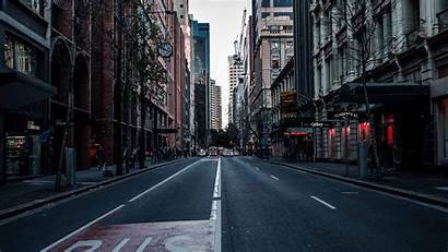 Street Asphalt Road 1080p Buildings Fhd 4k