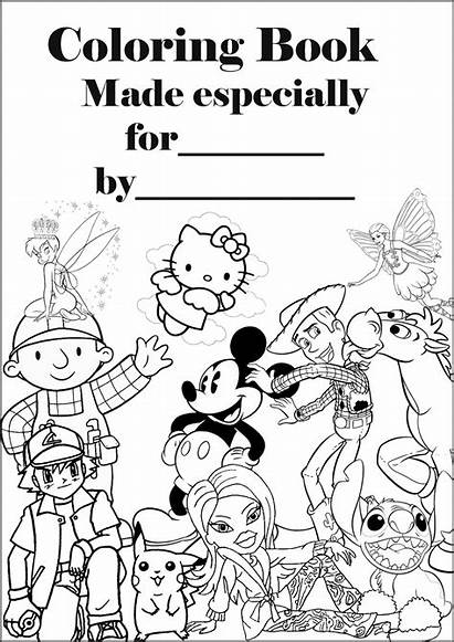 Coloring Pages Barbie Personalised Colouring Books Sheets