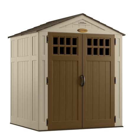 suncast bms6510 sierra 6 x 5 resin storage shed shop