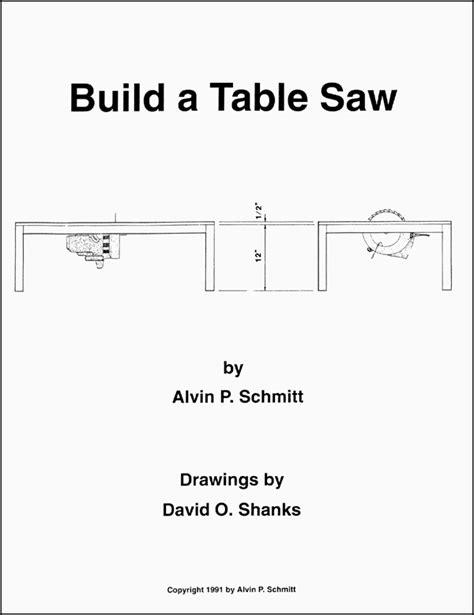 homemade table  plans  bijaju