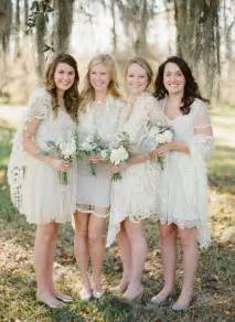ivory bridesmaid dresses lowcountry charleston winter wedding once wed