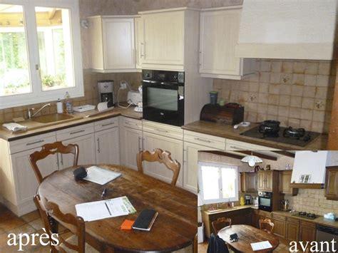 renovation meuble cuisine en chene renovation cuisine rustique avantaprs rnover sa cuisine