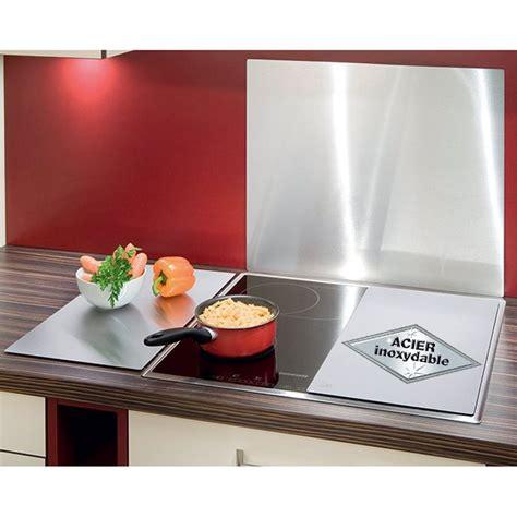 2 couvre plaques inox protection plaques de cuisson