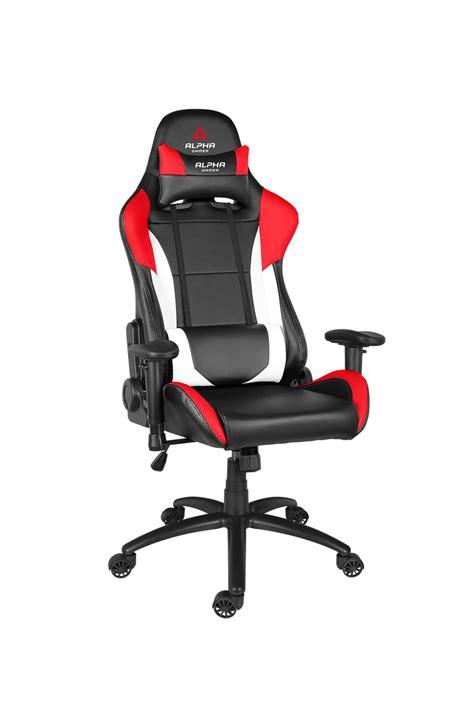 alpha gamer v2 black white gaming chair other