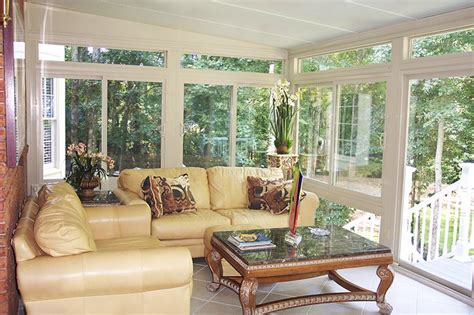 Sunroom Interior by Betterliving Sunrooms Patio Rooms Care Free Homes Inc