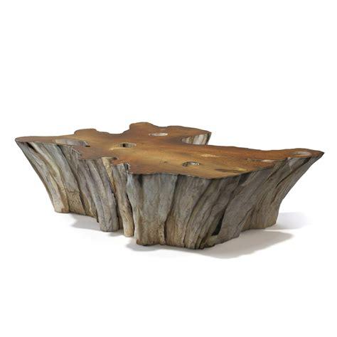 teak root coffee table 3d teak root coffee table