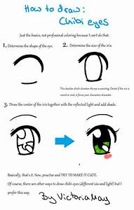 How to draw: Chibi Eye by VictoriaMay on DeviantArt