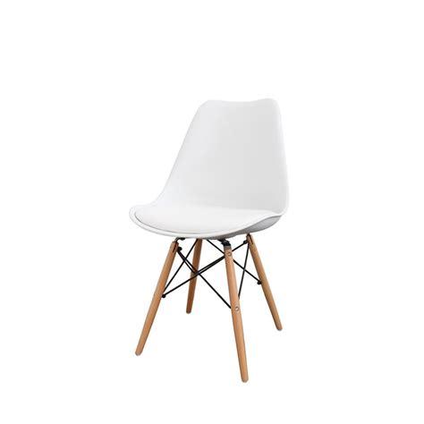 chaise metal bois lot de 2 chaises design nielsen par drawer fr