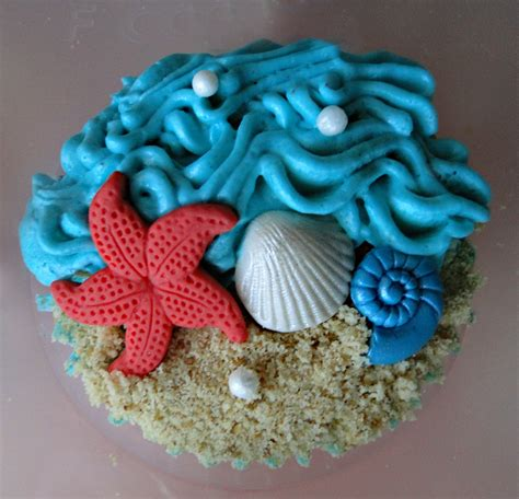 cupcake themes cupcake ideas with a beach theme cupcake ideas for you