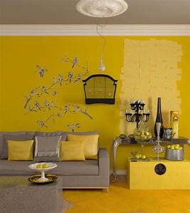 living room furniture with yellow walls With living room furniture with yellow walls