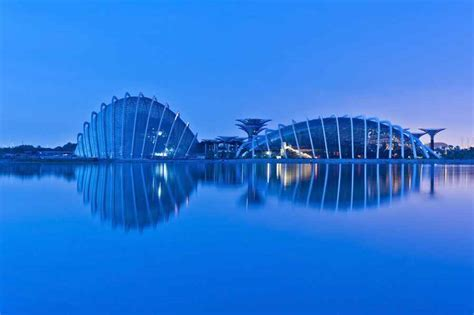 bay by the garden gardens by the bay conservatories singapore biomes e architect