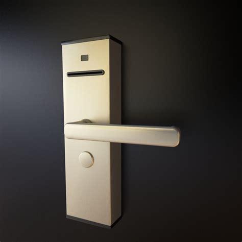 hotel door locks 3d model electromagnetic door lock hotels