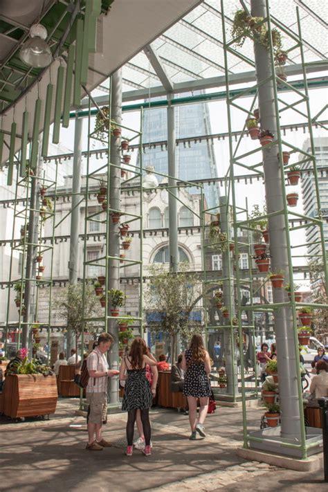 borough market inside borough market s new indoor garden is now open 17 july 2013