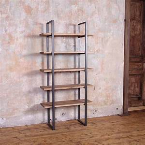 Industrial, Style, Reclaimed, Wood, Shelving, Unit, By, Cosy, Wood