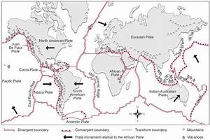 TECTONIC PLATE BOUNDARIES MAP   NGSS Earth Science ...