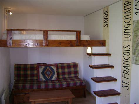 mezzanine canap lit mezzanine 2 places avec canap finest with lit