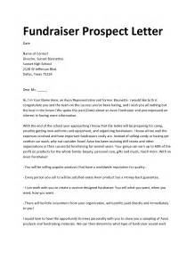 charity fundraiser cover letter