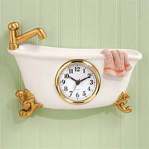 Bathtub Clock - Bathroom Clocks - Bathroom & Shower