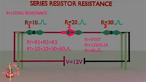 series resistor resistance calculation or formula ...