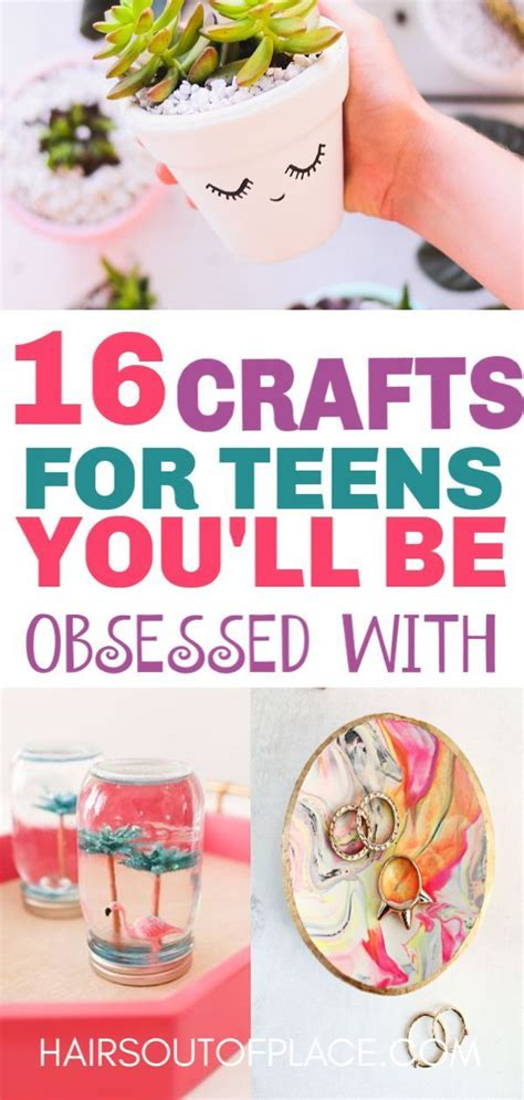 fun crafts  teens   bring  thier