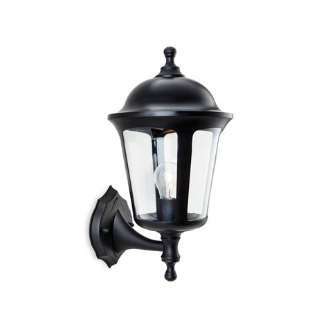 firstlight 3480bk boston 1 light black outdoor wall light
