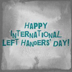 Happy Left-Handers Day