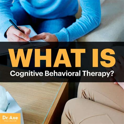 cognitive behavioral therapy benefits techniques dr axe