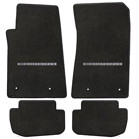 2010 Chevy Malibu Floor Mats by Chevy Camaro Rear Floor Mats Car Interior Design