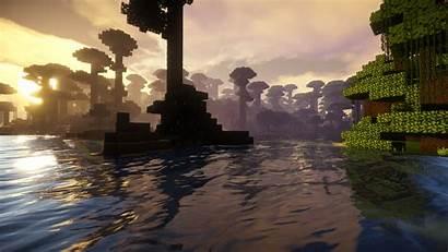Minecraft Wallpapers Backgrounds Desktop Cave Mobile Games