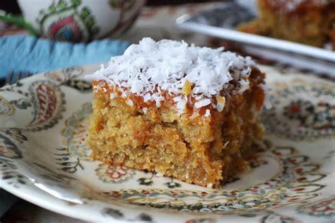 grandmas  lazy daisy oatmeal cake