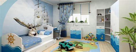 Bērnu istaba jūras stilā