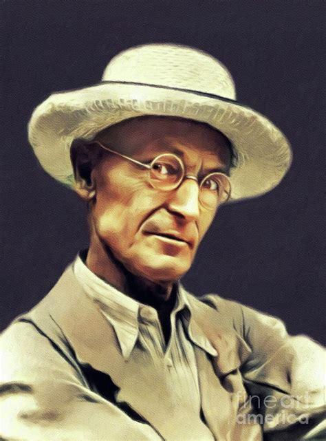 Hermann Hesse, Literary Legend Painting by Esoterica Art ...