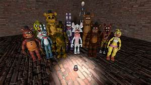 Fnaf 2 All by mikequeen123 on DeviantArt