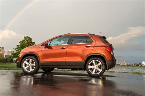 Side By Side Comparison Of Buick Encore And Chevy Trax