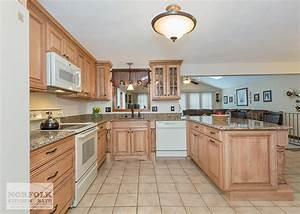 Tewksbury kitchen remodel with Maple cabinets - walnut glaze