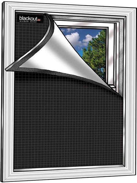 Blackout Window Blinds by Blackout Ez Window Cover Small 36 Quot X 48