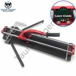 600mm Professional Manual Tile Cutter Laser Guide Heavy