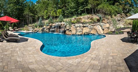 Wayne Nj  Custom Inground Swimming Pool Design & Construction