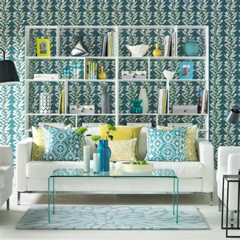 teal living room ideas uk graphic floral living room housetohome co uk