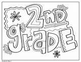 Grade 2nd Signs Coloring Classroom Doodles Environment Binder Sheets Classroomdoodles Printables Templates sketch template