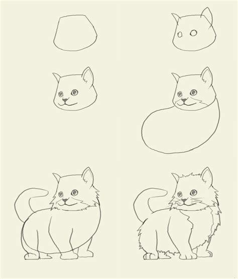 draw kitten easy desenhar eyes pinterest drawings