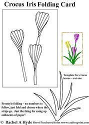 page   floral iris folding patterns card making